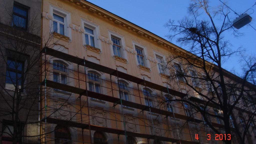 Stuwerstrasse 30; 1020 Wien- Dachgeschoss Ausbau (Strassentrakt + Hoftrakt)